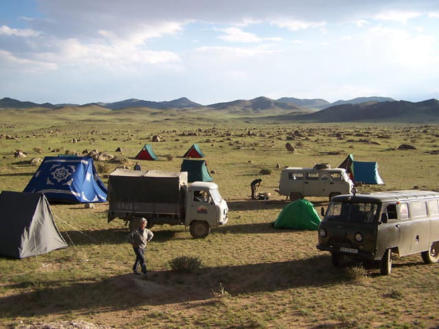 Camp intermédiaire vers Gobi
