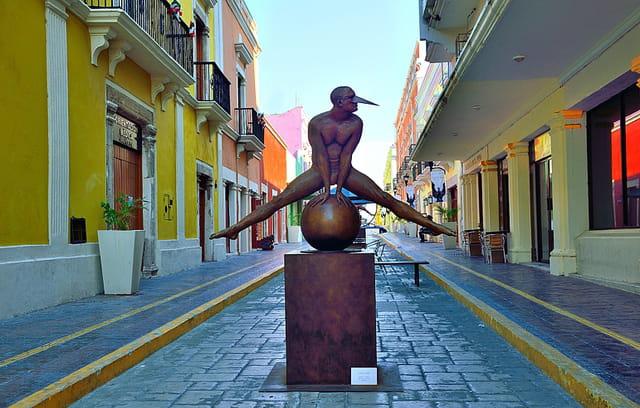 Campeche, rue du centre historique.