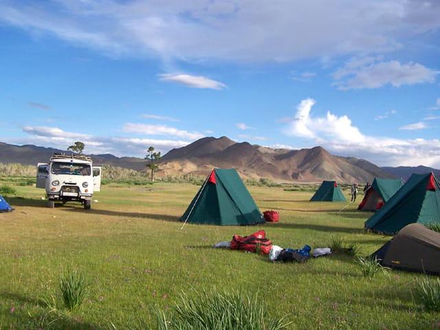 Campement vers le sud