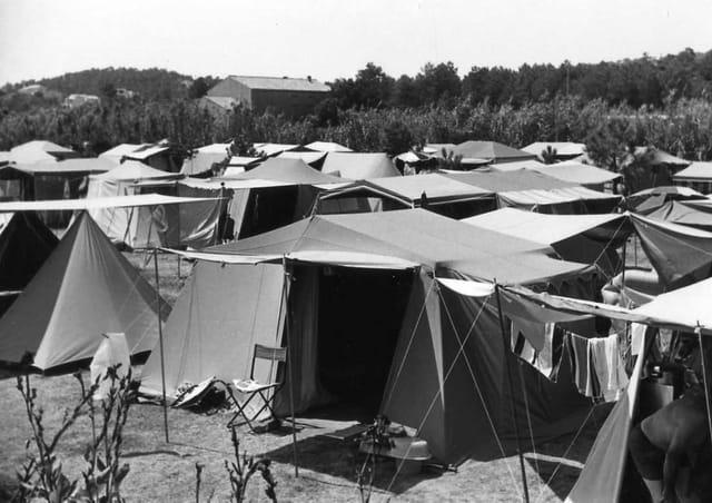 Camping a Saint Tropez