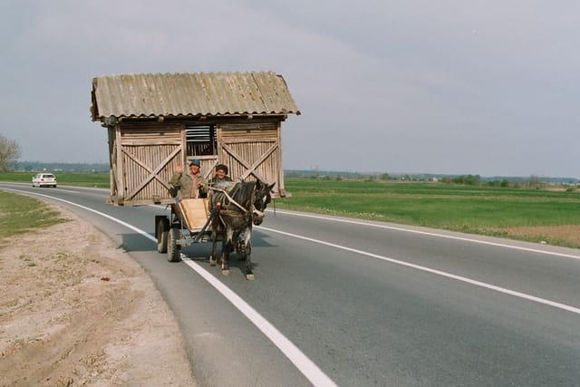 Camping cal ( cal = cheval en ro)