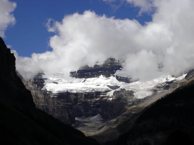 Canada glacier Lac Louise