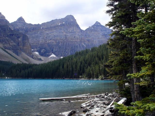 Canada lac Moraine