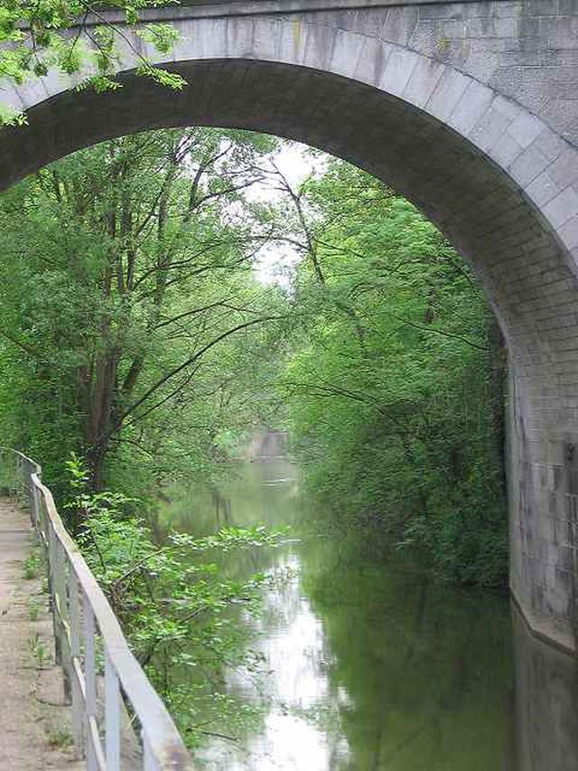 Canal au vert