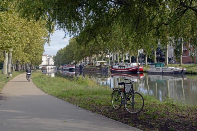 Canal du midi à Toulouse