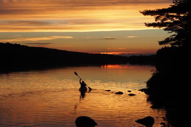 Canot-camping en Ontario