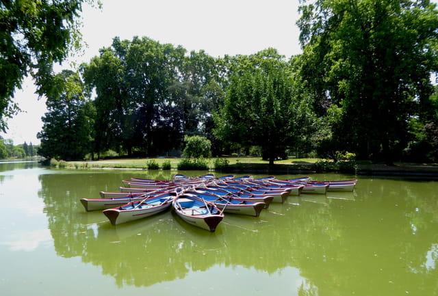 Canots du bois de Vincennes