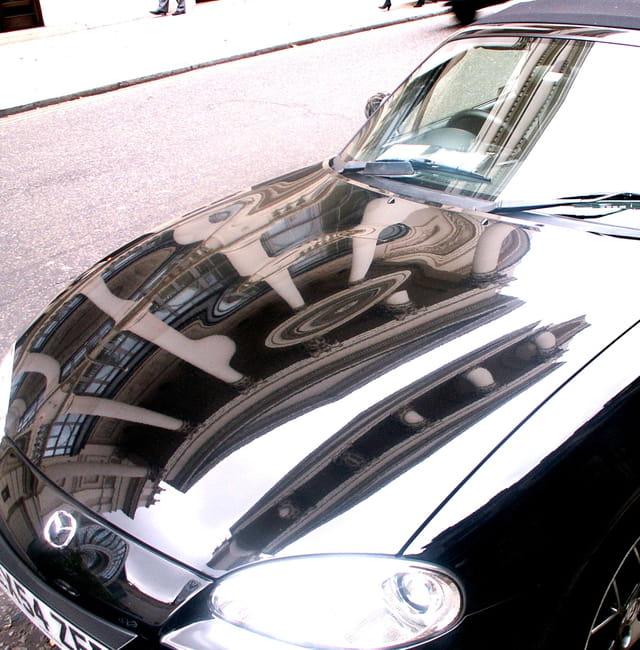 Car reflet