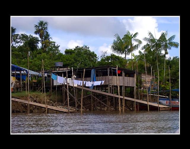 Carbet en Guyane (habitation)