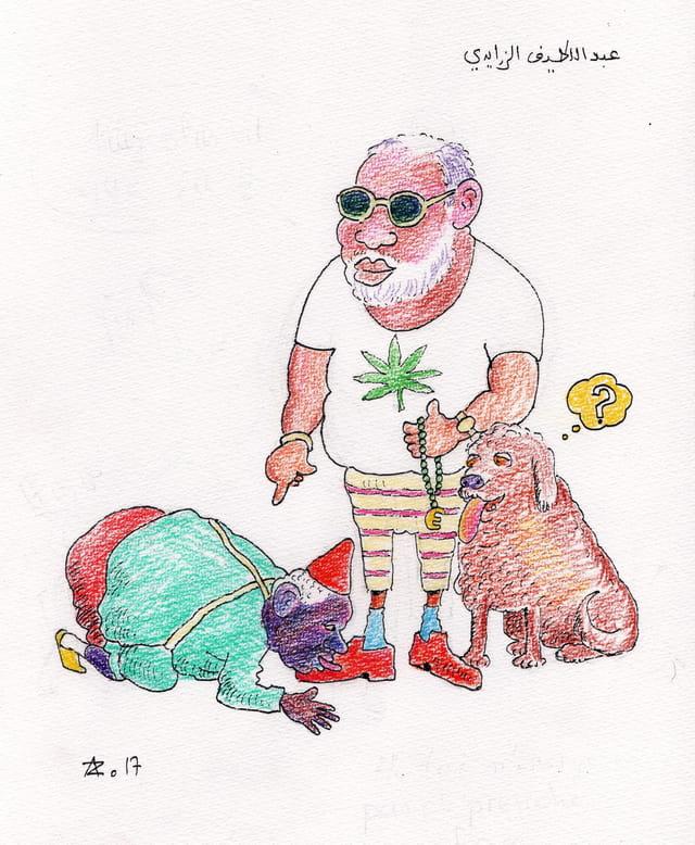 Caricatures Marocaines
