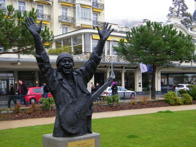 Carlos Santana à Montreux