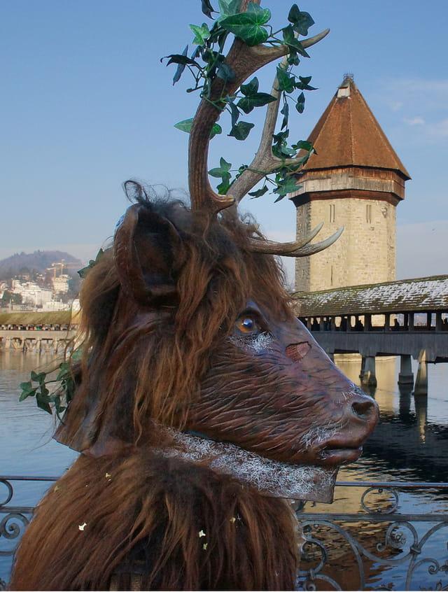 Carnaval de Luzern, Suisse.