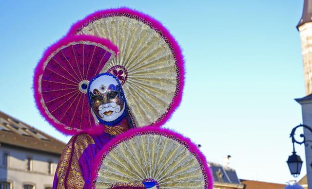 Carnaval éventail