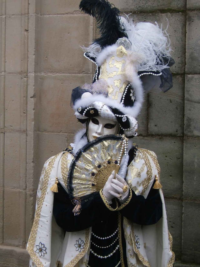 Carnaval vénitien : belle, belle ...