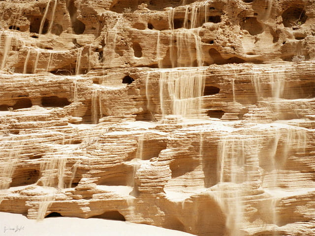 Cascade de sable