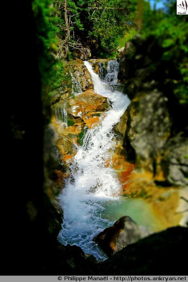 Cascade des Glières, Pralognan-la-Vanoise