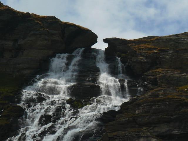 Cascade des Montets