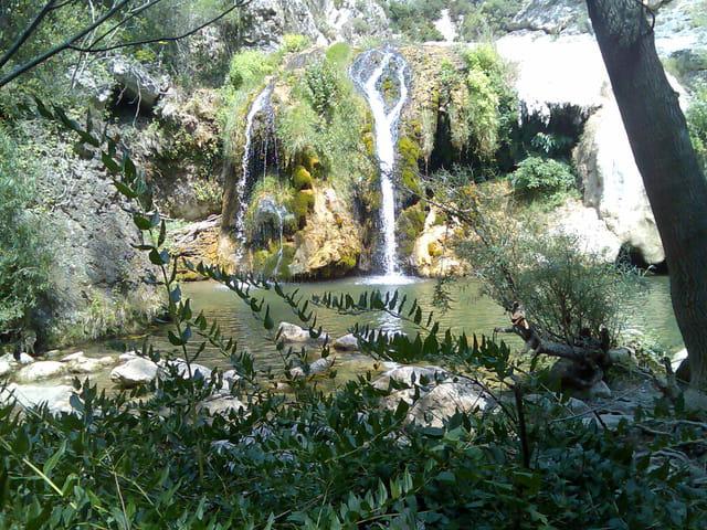 Cascade gorges du terminet ( ou termenet ) - Aude