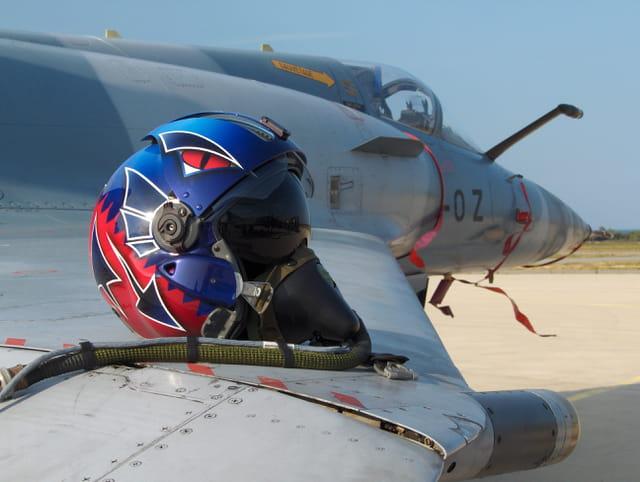 Casque pilote