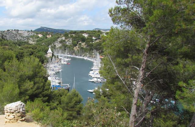 Cassis : calanque de Port-Miou