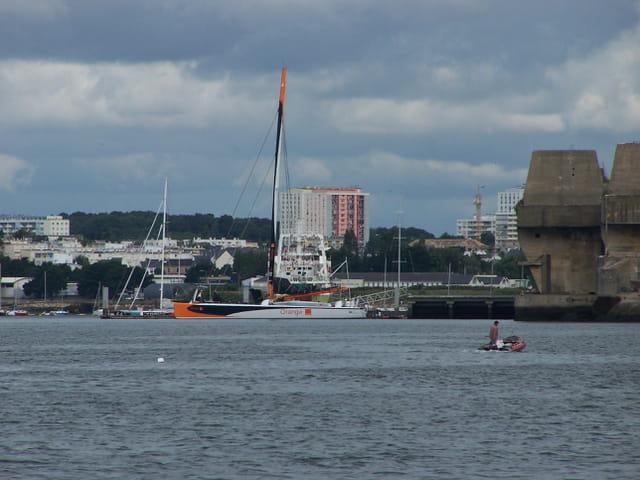Catamaran Orange