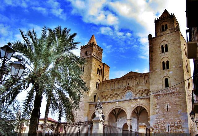 Cathédrale de Céfalù, Sicile.