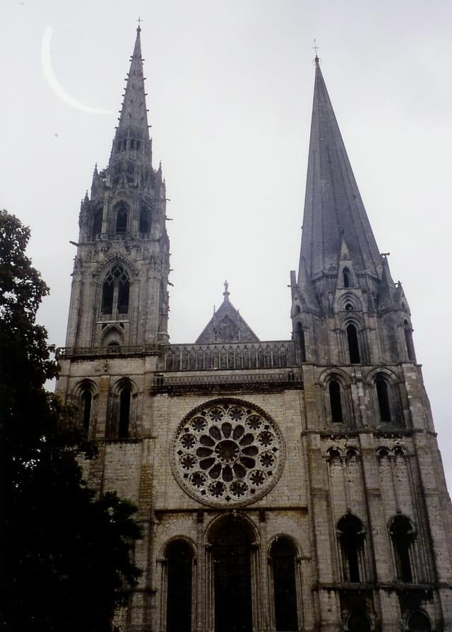 Cathédrale de Chartres, entrée principale