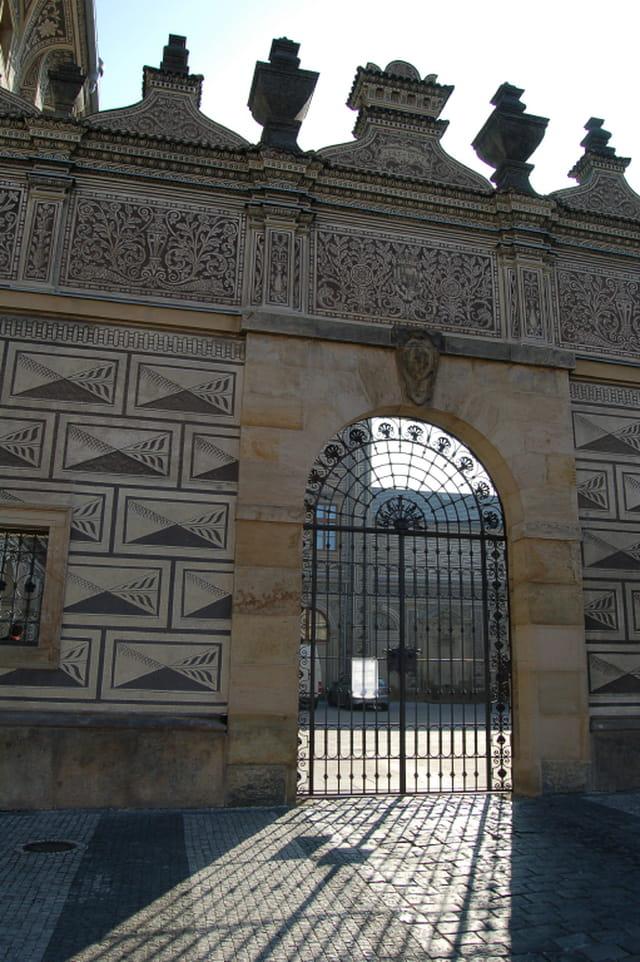 Entrée du palais Scwarzenberg