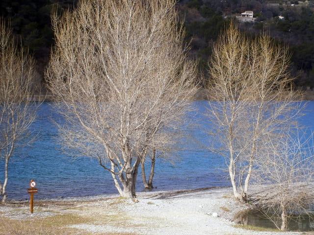 """Ce matin 4° sur les bords du lac """"le Broc"""""""