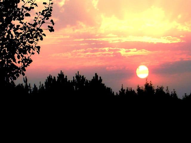 ce matin du 21 08 12 le soleil se lève