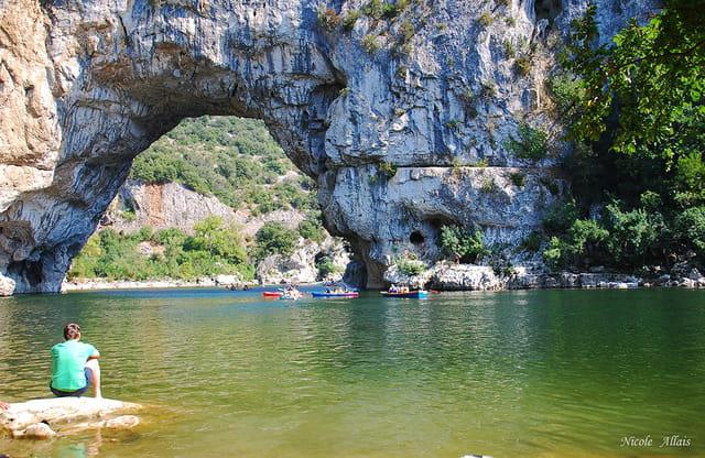 Se rafraîchir dans l'Ardèche