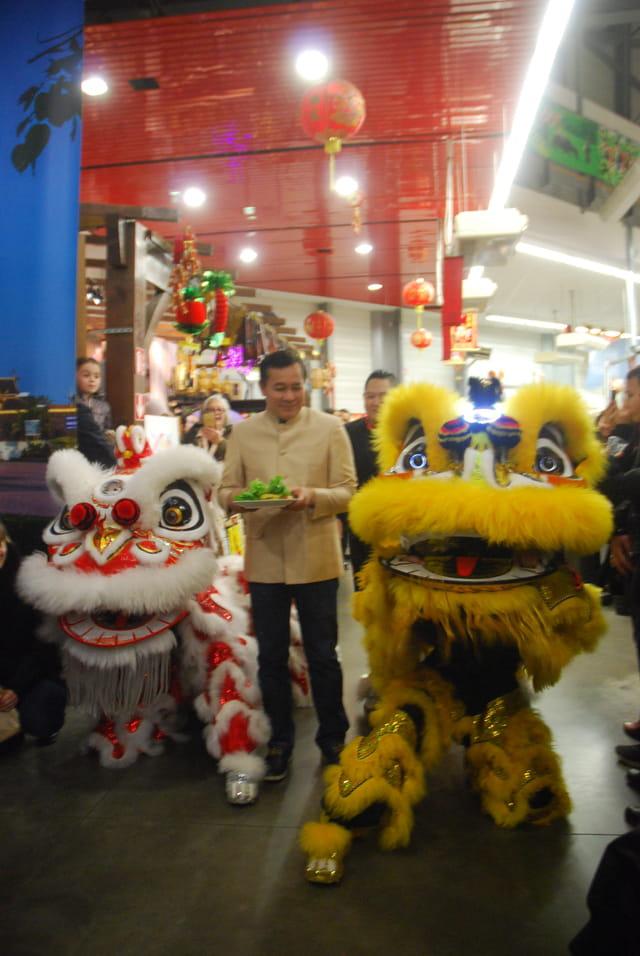 célébration  du 1° de l'An Chinois