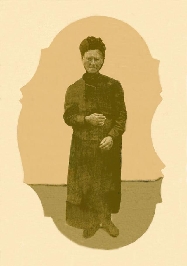 Céline de Beaumont vers 1910