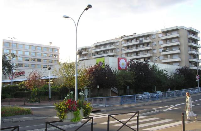 Le supermarché du centre ville