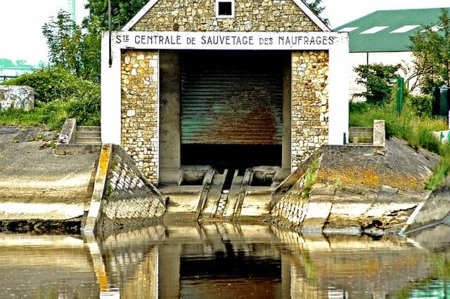 centre de sauvetage de naufragés a Honfleur