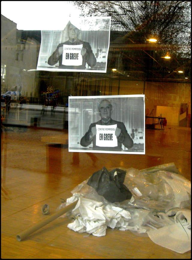 """""""Centre Pompidou en grève"""""""
