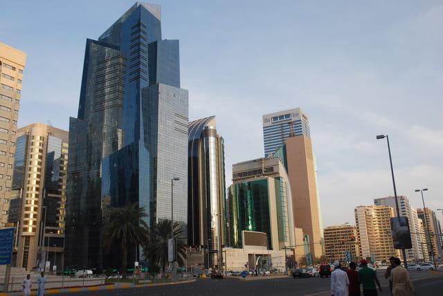 centre ville d'Abu Dhabi