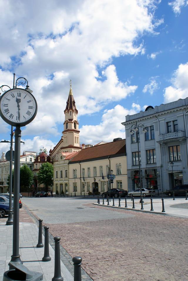 Centre-ville de Vilnius