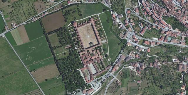 Certosa di San Lorenzo à Padula
