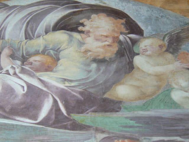 Chaalis - détail de la fresque