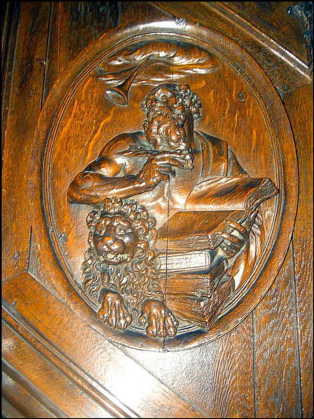 Chaire de prêche de Saint-Etienne-du-Mont (Détail)