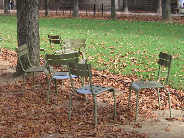 Chaises d'automne