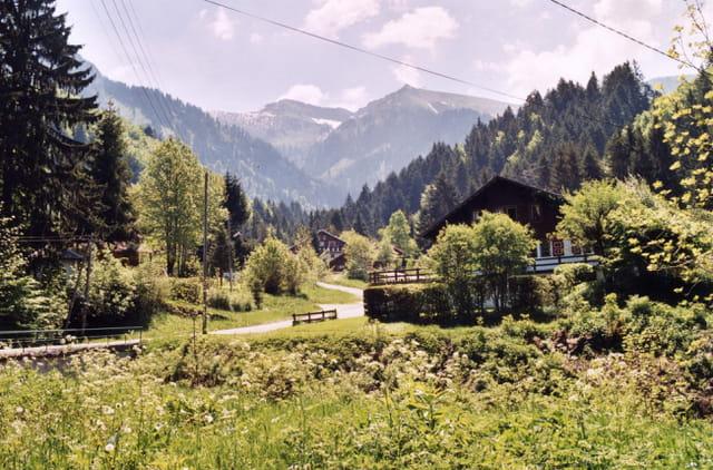 châlet en Haute-Savoie