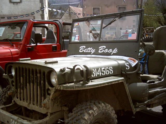 Chambon sur jeep