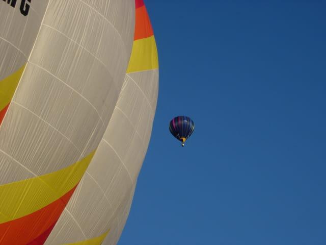 Champ  France de montgolfière 2006