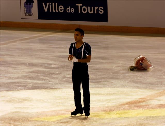 Champion d'Europe de patinage