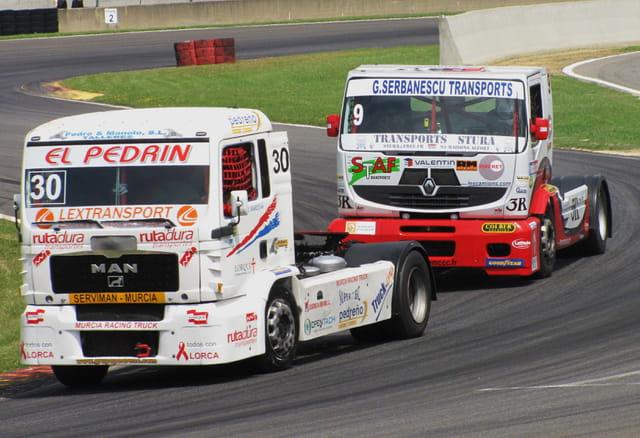 Championnat d'Europe camions - Nogaro 2011.