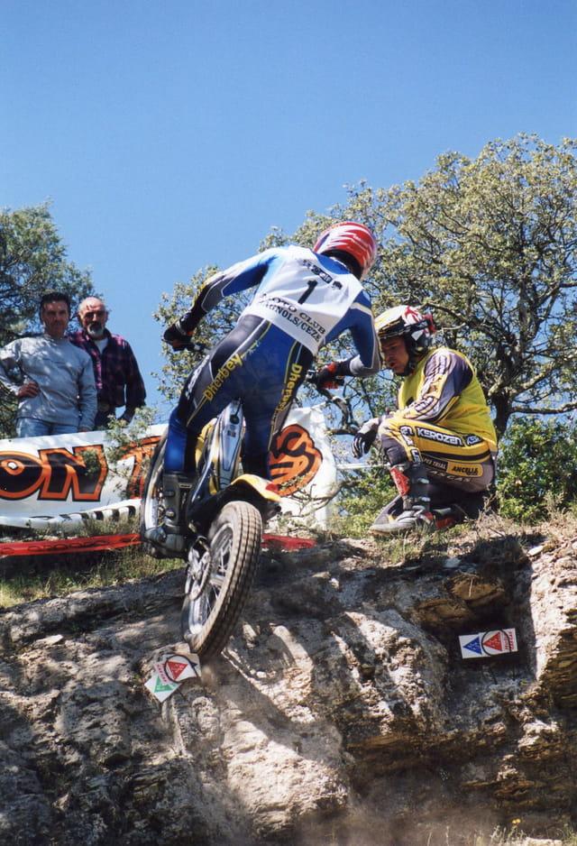 Championnat de France de Trial moto à Quissac