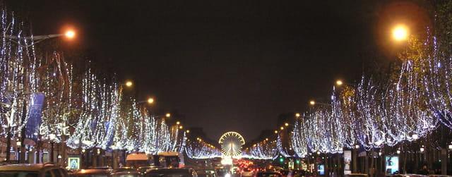 Champs-Elysées Décembre 2007