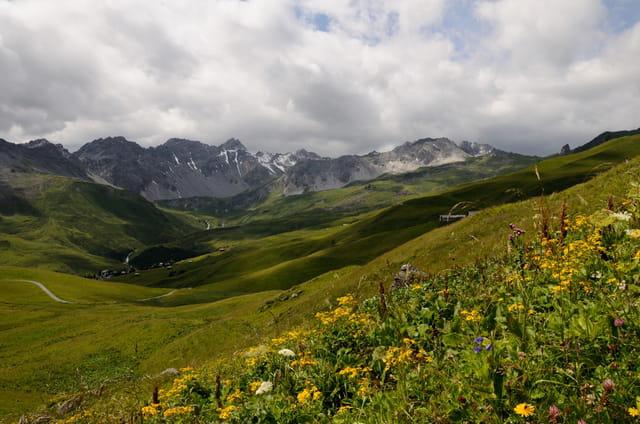Changement de temps en montagne